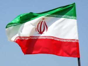 پرچم اهتزاز افقی ایران